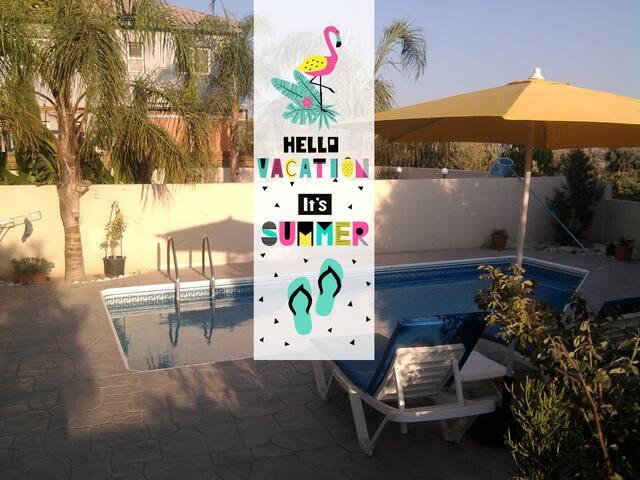 Pissouri Villa with private pool