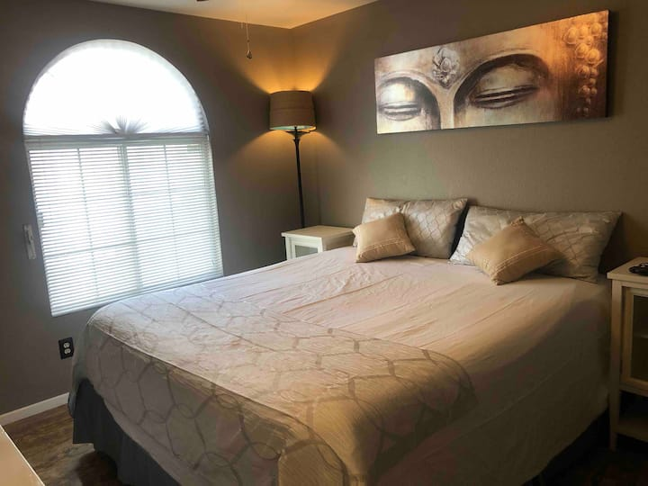(3) Zen Private Clean Bedroom Near Nature & Strip