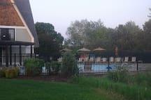 Outdoor pool, guests may enjoy.