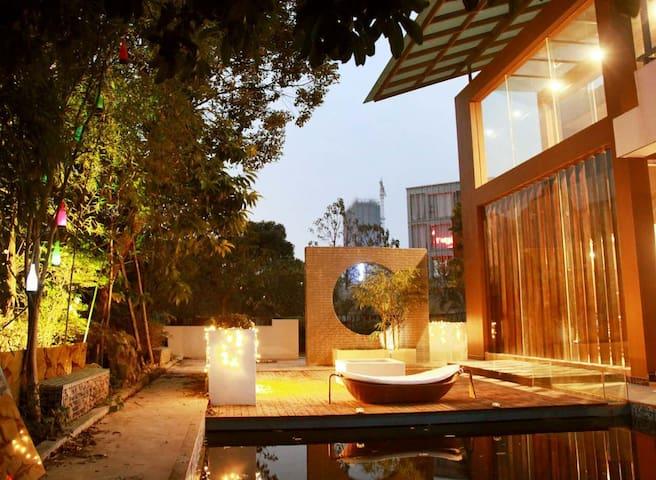 现代中式别院家庭旅馆——漫墅·揽清 - Guilin - Casa de campo