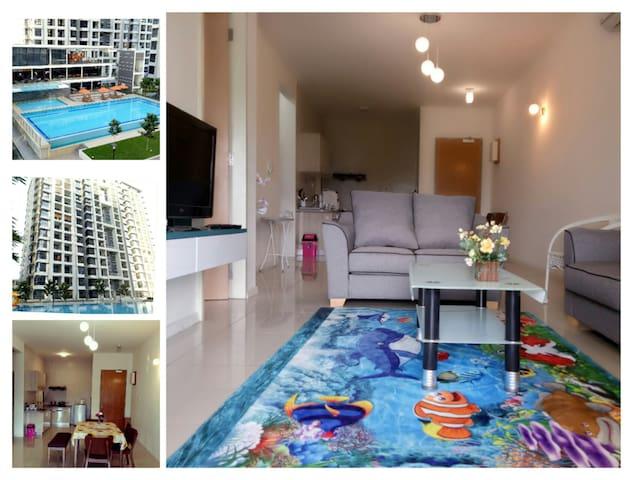 Cozy LFS Condo near airport & city center 四季舒适度假公寓