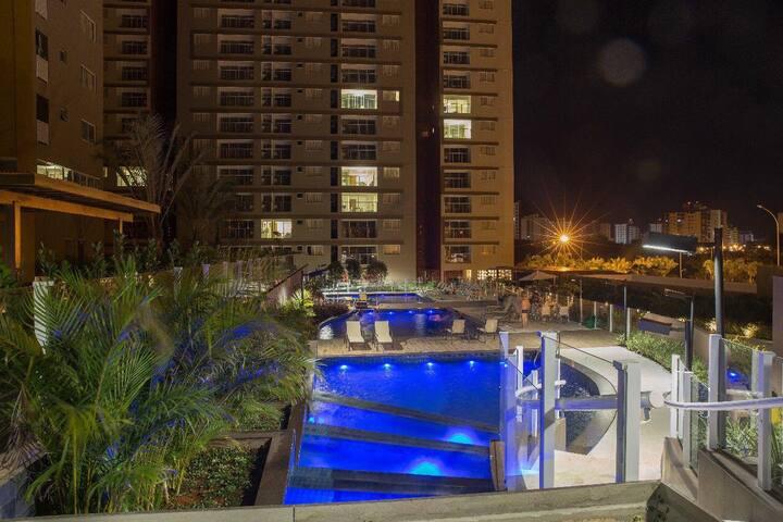 Condomínio Evian Thermas Residence
