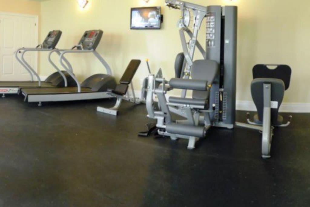 Onsite fitness centre