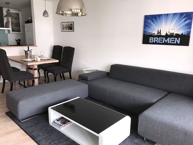 City Apartment in great Location with free Parking