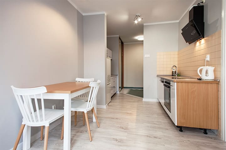 Apartament Szybka - 40 m2, komfort dla rodziny.