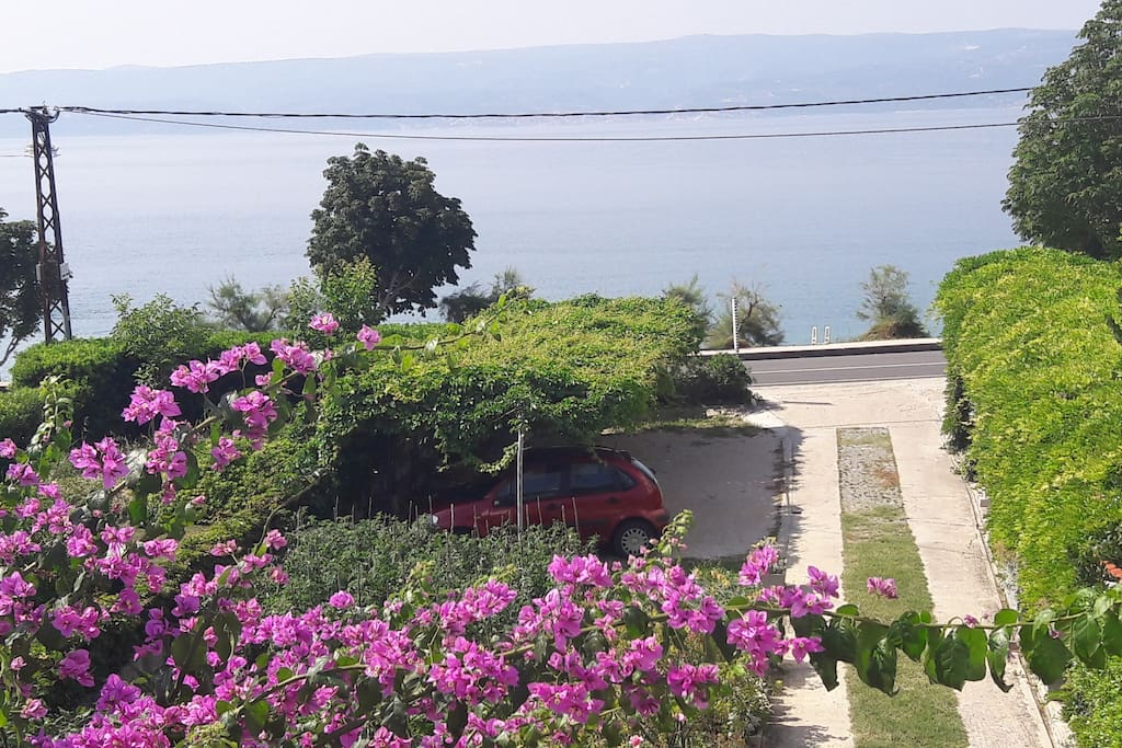Ulaz u dvorište i parking
