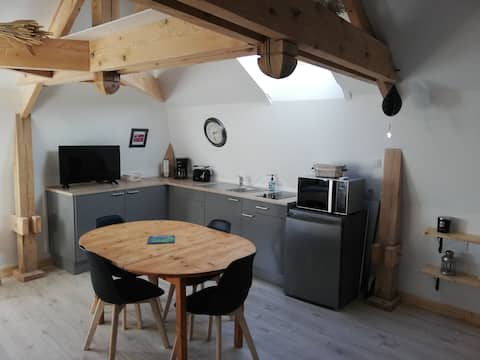 Charming 25m² studio in the heart of Normandy