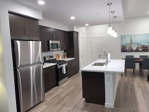 Clean, Crisp, Modern Getaway! With Private Garage!