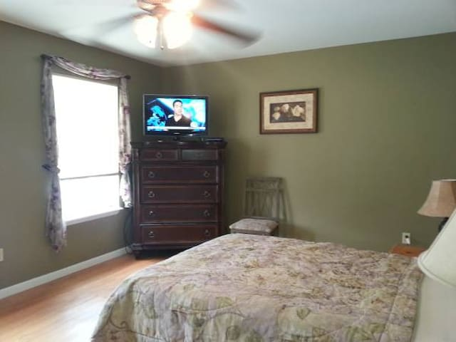 Very Large Bedroom 7 min to Saratoga - Ballston Spa - Ortak mülk