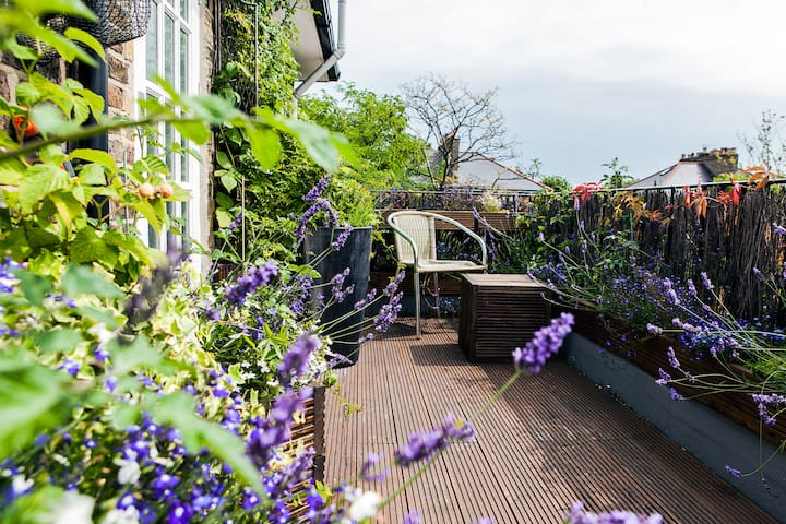 Quiet Stylish Islington Flat with Roof Terrace