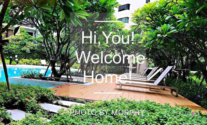 Greenery Escape in the Center of  Sathorn/1 BR