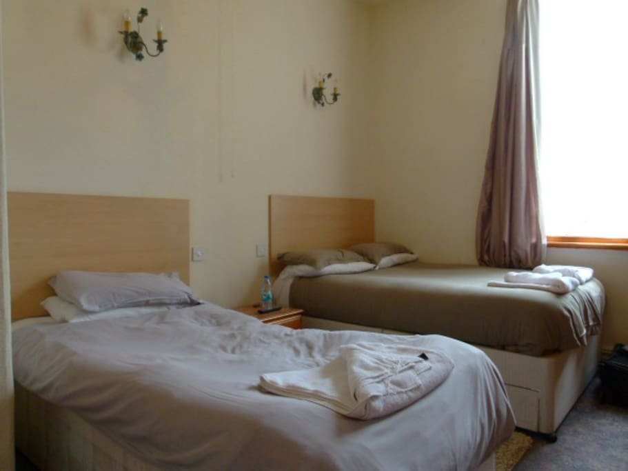 Room1 double & single bed