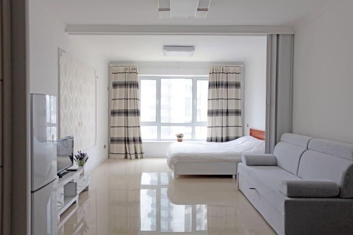 休闲度假海滨大床房 - 葫芦岛市 - Apartament