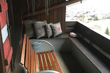 Stylish apartment spectacular view + pool & sauna