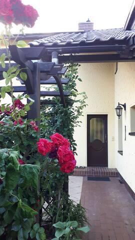 Eingang zum Appartement
