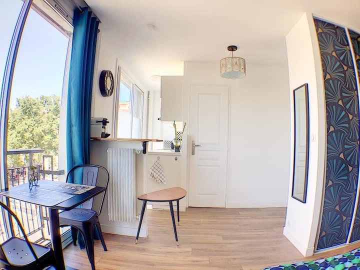Marseille, Vieux-Port , Spacieux Studio 13001