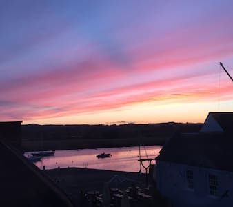 Top Floor Apartment w/ Great View - Topsham - Apartamento