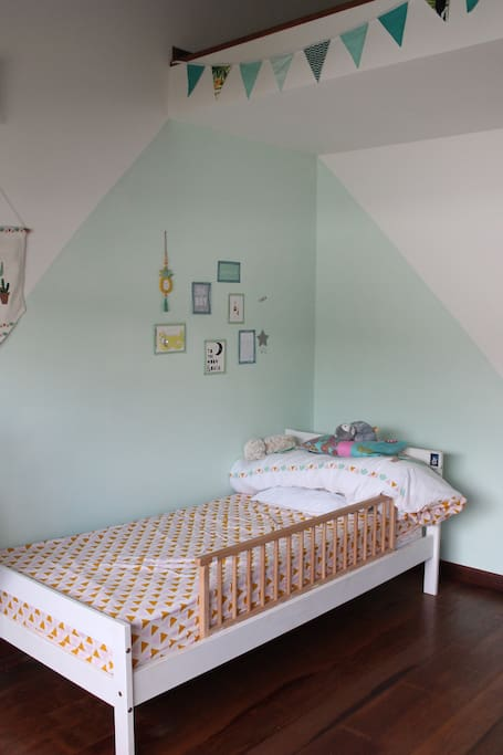 Chambre lit 1 place