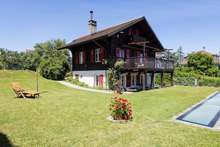 Appartement in lakeside chalet