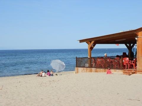 Nice house near the beach-Platamona