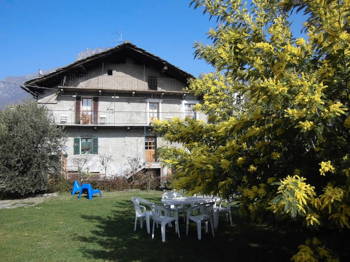 tipica casa Valdostana