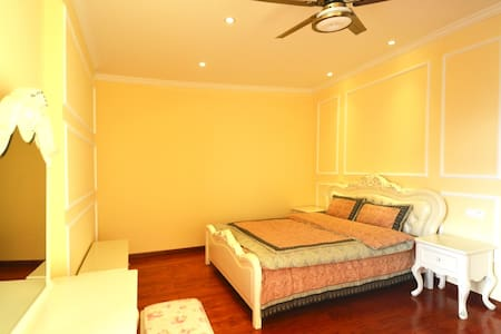 安吉天荒坪农民豪华别墅 美式豪华套间 超高性价比短租 适合家庭度假 - Huzhou - Apartment