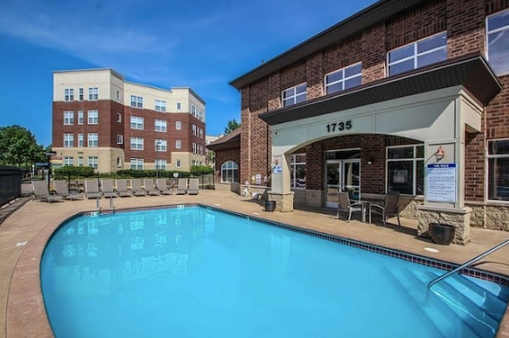 Apartment 5 minutes from the MSP airport