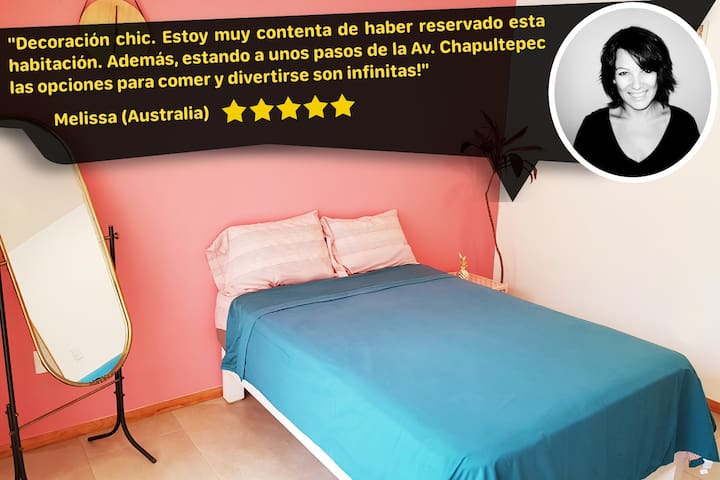 Dodogdl⭐Room/2 persons/POOL❤️/ROOFTOP/Trendy