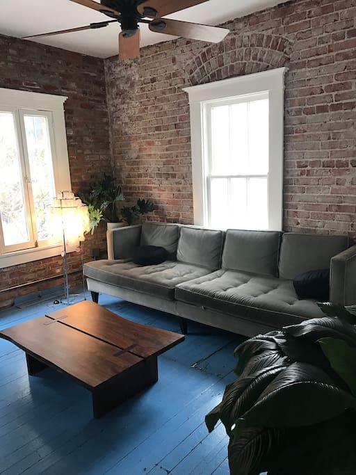 Shared lounge area.