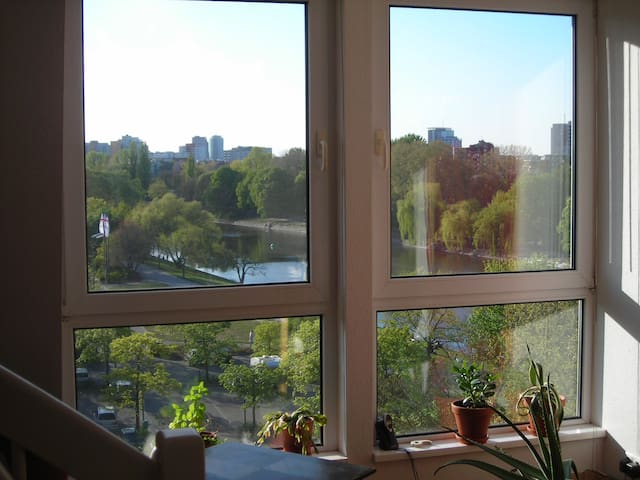 Dachgeschoss Dachterrasse Panorama Kreuzberg
