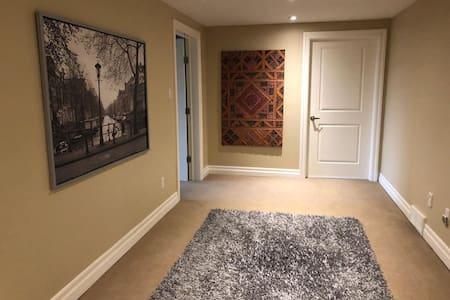 Cozy - Tranquil 2 Room Walkout Basement Apartment