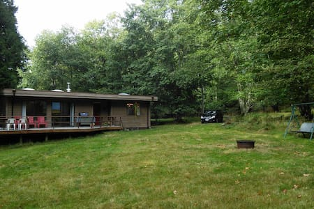 Mountside Meadow Vacation Home - Hornby Island - Haus