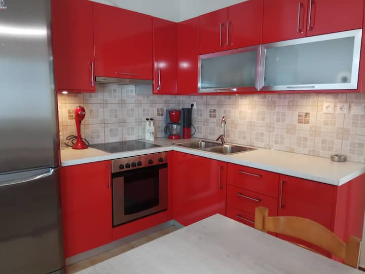 Zea Waves apartments red