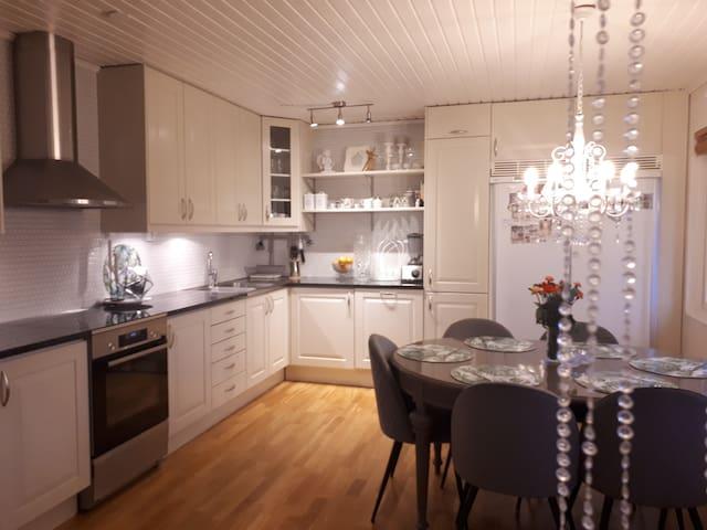 Cousy Scandinavian home.