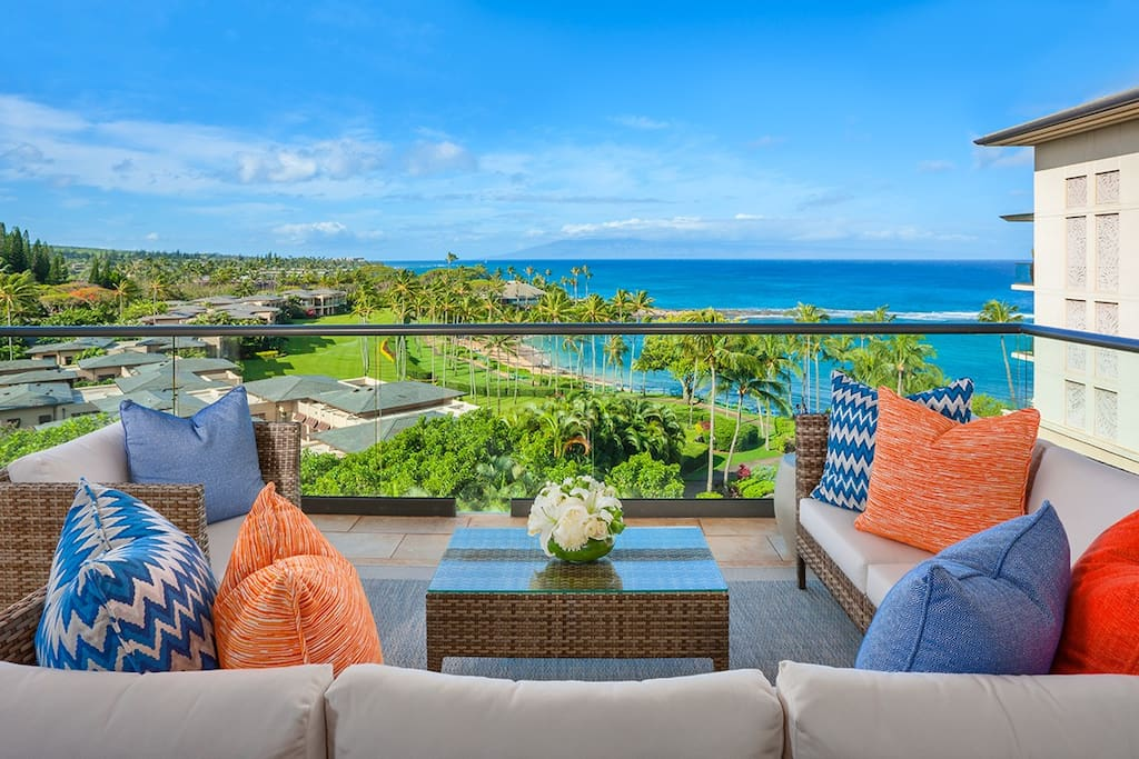 Your View Towards Kapalua Beach and Bay