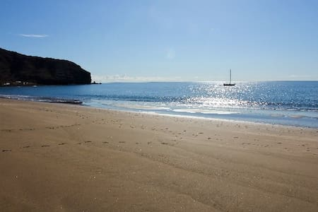 Beach-front 2 bed apartment - Gran Tarajal - Apartamento