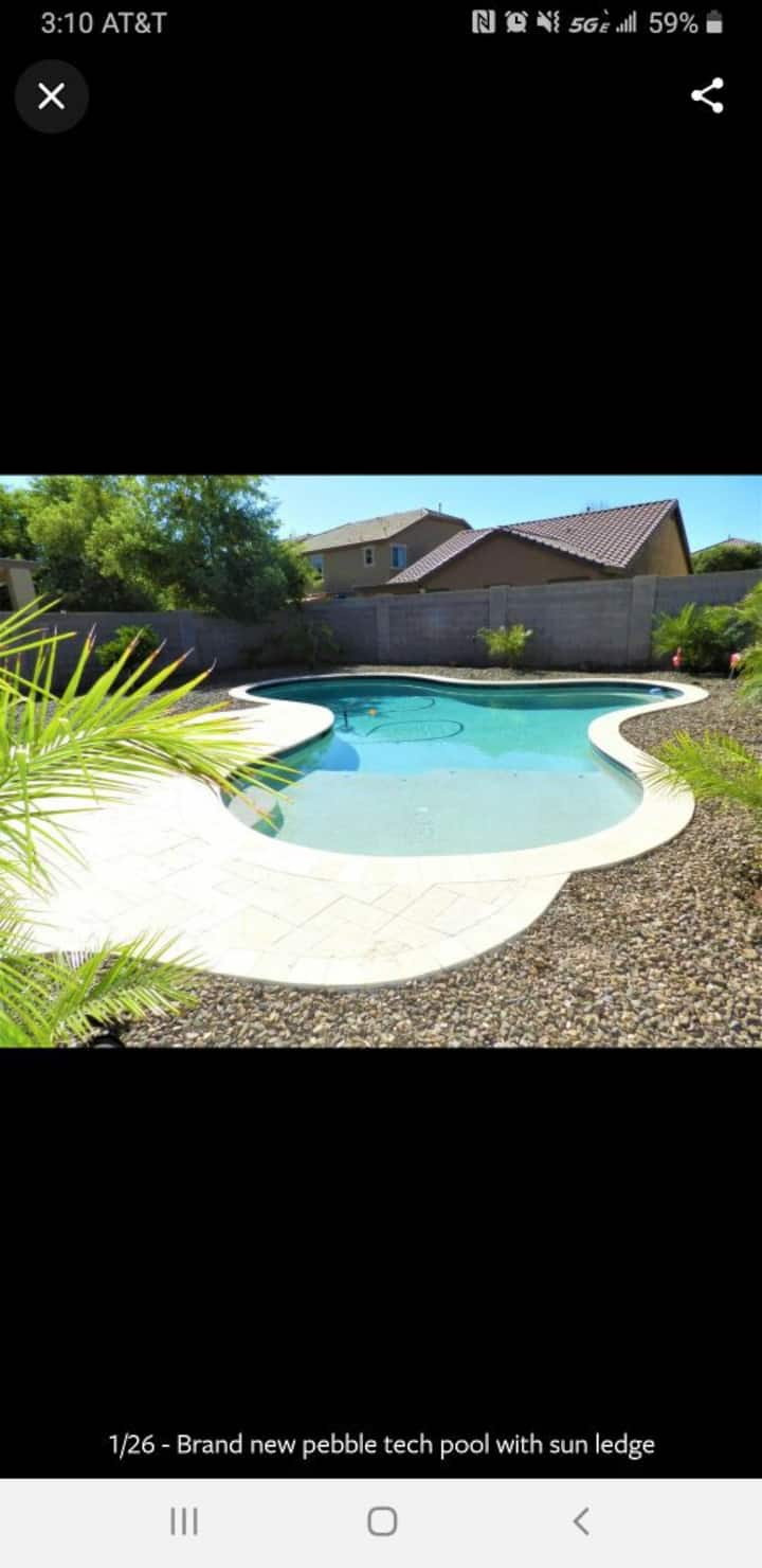 Beautiful pool property