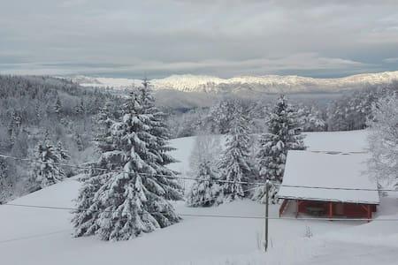 Très beau chalet dans station de ski familiale - La Morte