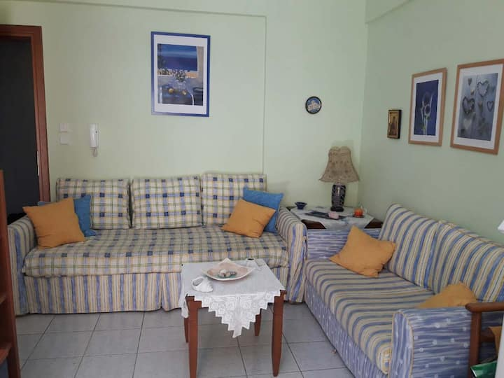 Cosy 1-bedroom flat in the heart of Platamonas!