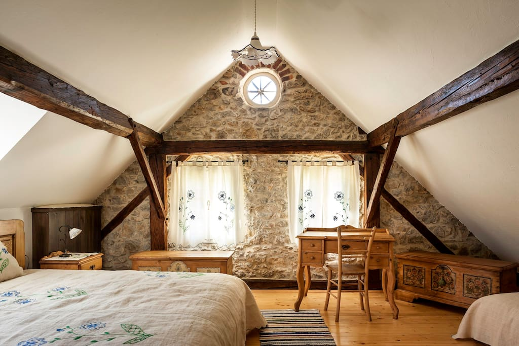 Room in traditional Slovene family house