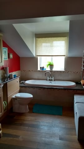 Double room close to the countryside.