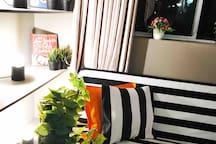 Artistic cozy apartment near museum station