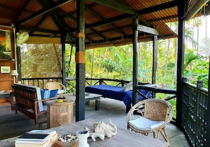 Sanctuary-Andaman Islands- hilltop cottage. no 3