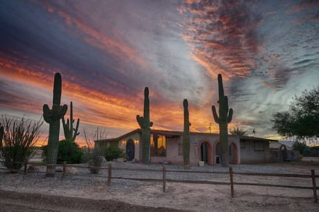 Desert Home in Toltec Sub Division of Eloy, AZ - Eloy