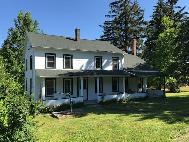 1890's Catskills Farmhouse on Hankins Creek