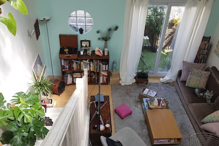 Duplex in the south of Paris, 55 m2 - Issy-les-Moulineaux - Loft