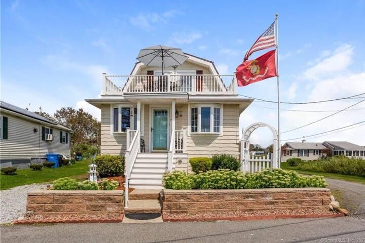 Beach house with ocean views. Short walk to beach.