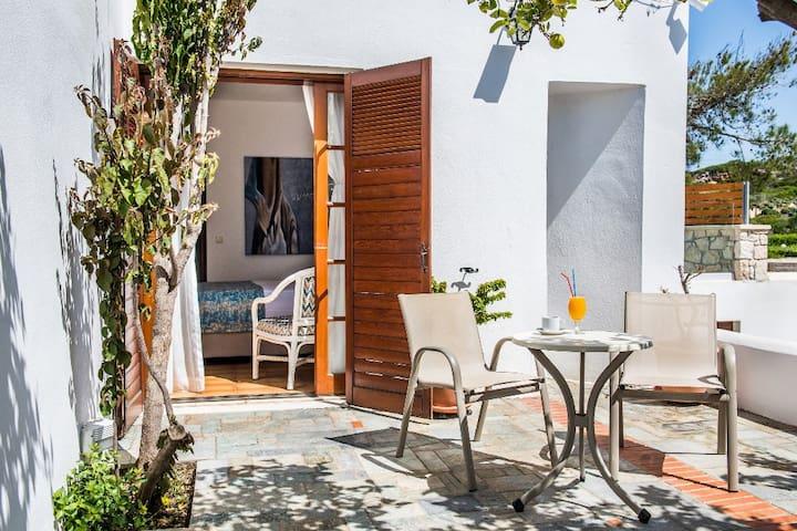 Master bedroom's private veranda
