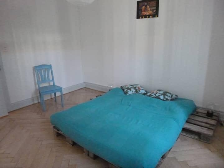 Chambre dans appartement proche du centre ville