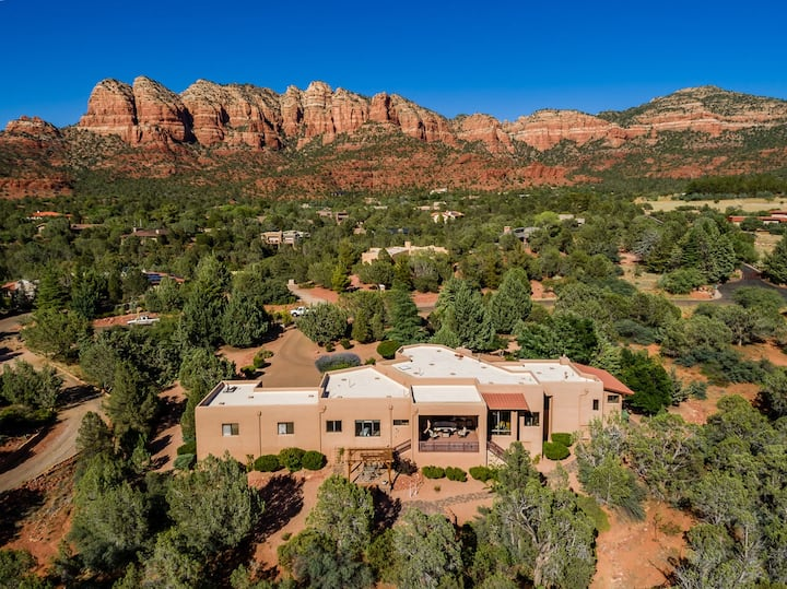 Sedona High Desert Sanctuary-Wrapped in Endless Red Rock Views